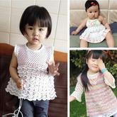30款兒童鉤針服裝配飾等作品精品匯總(2015年4月)