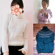 202005期周熱門編織作品:手工編織成人兒童秋冬毛衣10款