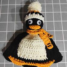 依图仿帽 有趣可爱企鹅造型钩针帽子