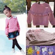 202007期周熱門編織作品:成人兒童棒針手工編織毛衣10款