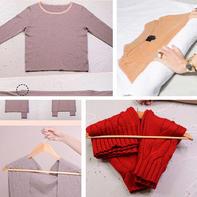 跟着知名时尚博主学习如何呵护毛衣