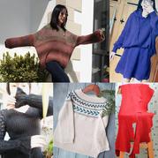 202008期周热门编织作品:2020春款成人儿童棒针手编毛衣15款