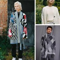 菱形花纹毛衣经典升华 百年奢侈品牌普林格2020毛衣欣赏