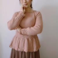 埃莉诺拉 修身款女士棒针粗针织套头毛衣