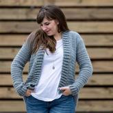編織方法特別簡單的春秋開衫 學會方法一衣可多織