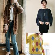 202011期周热门编织作品:手工编织春款棒针毛衣12款
