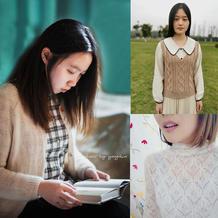 202012期周热门编织作品:春款手编棒针毛衣10款