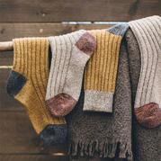 家里零线■不知怎么处理?织一♂款毛线袜吧