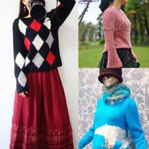 202014期周热门编织作品:2020春款热门手工编织毛衣10款