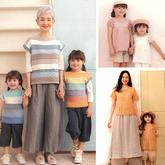 春夏親子家庭款手工編織服飾圖案圖解