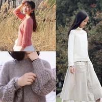 202016期周热门编织作品:成人儿童手工编织春夏毛衣款式15款