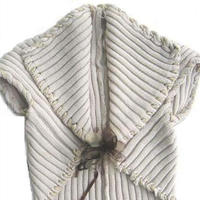 超级简单两头穿 2片长方形即可成就一件外套