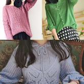 202018期周熱門編織作品:春夏手工編織服飾女士毛衣10款