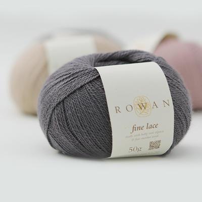 ROWAN Fine Lace羊驼羊毛蕾丝 英国进口线毛衣编织手钩细线