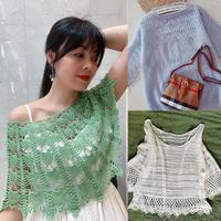 202020期周熱門編織作品:春夏手工編織女士針織服飾15款