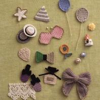 零线钩织12款小花样 可爱小巧可做衣饰点缀