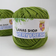 LANAS SHOP VERYFRESH亚麻 天然植物亚麻夏季手编钩针毛线
