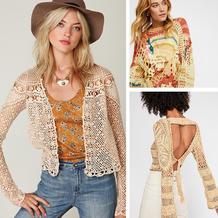 有多重设计理念的轻奢品牌Free People创意针织服饰欣赏