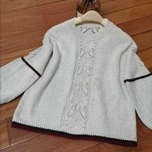 游鱼 喵夫人小满儿童棒针套头毛衣