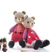 糖果森林熊(2-1)萌趣钩针小熊玩偶兴旺xw115视频