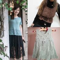 202025期周热门编织作品:手工编织春夏女士儿童服饰12款