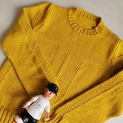 阳光男孩 仿淘宝款男孩棒针套头毛衣