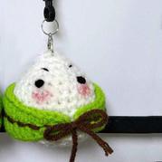可爱小粽子 超简单的创意毛线钩针粽子