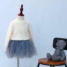 叶子的心事(5-3)儿童棒针叶子花毛衣编织视频