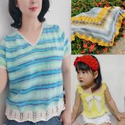202026期周热门兴旺xw115作品:春夏女士儿童手工兴旺xw115服饰6款