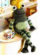 五一蛙王子 棒针青蛙王子编织图解教程