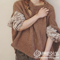SUNNY毛衣(2-1)慵懒oversize风格粗针织毛衣编织视频