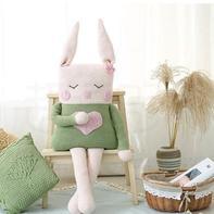 可爱兔子抱枕(2-2)钩针玩偶毛线编织diy视频教程