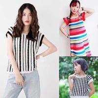 202027期周热门编织作品:春夏女士儿童手工编织服饰11款