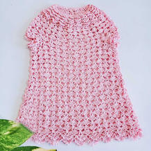 花开朵朵 从领口往下钩儿童钩针育克A型套衫