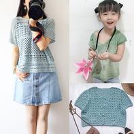 202030期周热门编织作品:成人儿童钩针棒针编织服饰9款