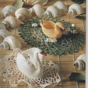 美丽优雅钩针立体蕾丝天鹅编织图解