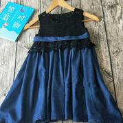 實穿又好看的兒童夏日鉤布結合小裙子
