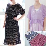 202033期周熱門編織作品:夏季鉤針棒針編織服飾9款