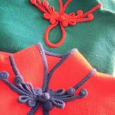 画龙点睛针织手工旗袍盘扣设计及制作