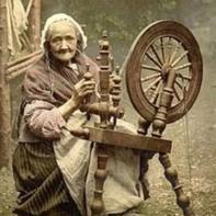 Spining wheel纺线车 纺线工具