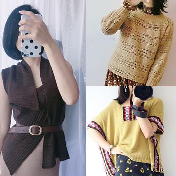 202036期周热门编织作品:2020年9月初热门手工编织服饰8款