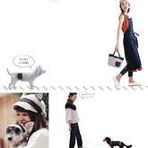 3套手工編織寵物狗狗與主人配套服飾編織圖解