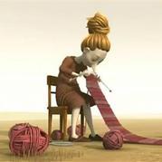 毛線編織動畫短片《最后的編織The Last Knit》