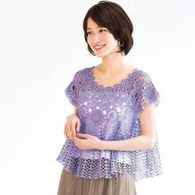 织女圈热仿网红钩针拼花蕾丝仙衣(成人款、裙款及儿童款)