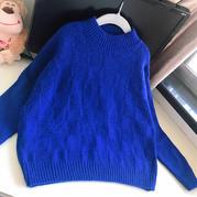 儒格 送外甥的超簡格子兒童棒針打底毛衣