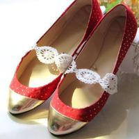 精致优雅蕾丝钩针鞋饰 新手也可以钩