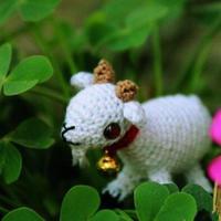 迷你小山羊 钩针小羊玩偶玩具