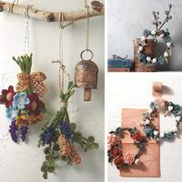 一组钩花装饰编织图解 用针线打造美物将美丽时光定格