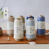 回归线【素朴】棉麻线 夏季手工编织细线细带子线