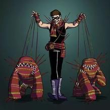 什么!咱编织者也有漫画角色?还是个超级恶棍?